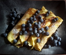 Blueberry Crèpes
